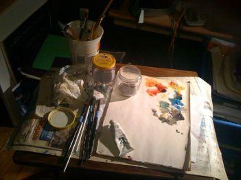 Linda Garten Goodwin's tools of choice